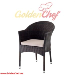 CHAISE TRESSE WEMBLEY NOIR